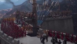 """Kadr z filmu """"Wielki mur"""""""