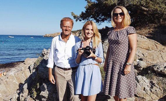Rodzinne wakacje Tusków na Sardynii [FOTO]