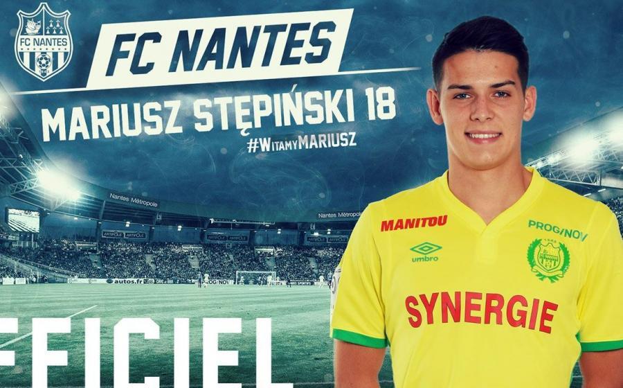 Mariusz Stępiński w barwach nowego klubu
