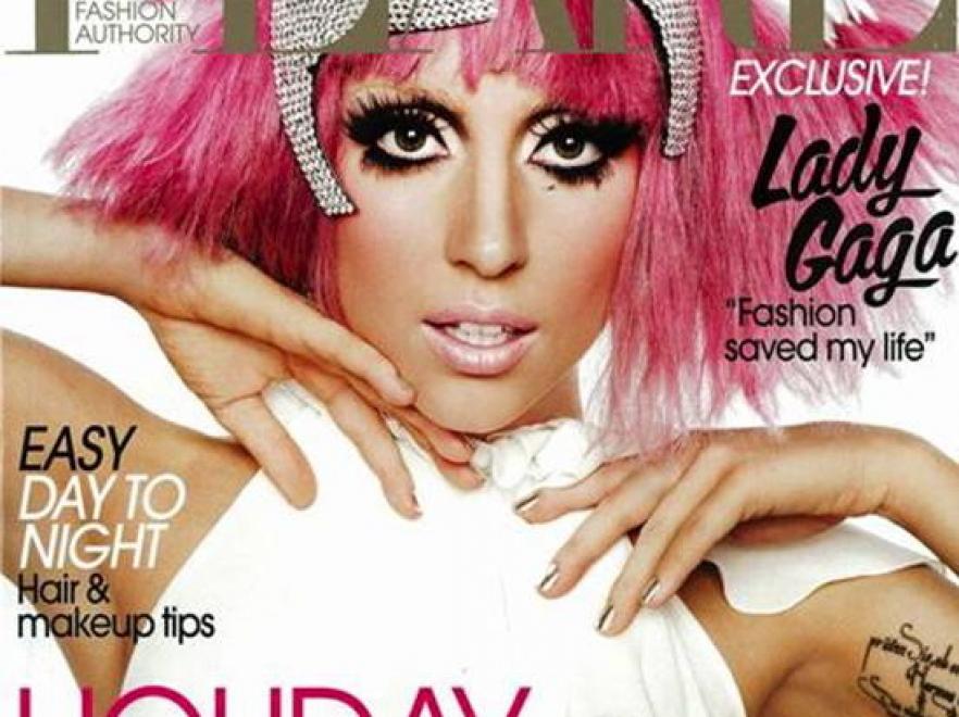Lady GaGa na okładce grudniowego magazynu \