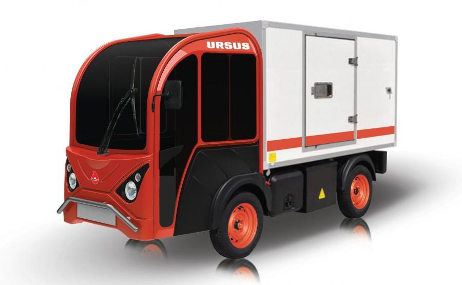 Samochód Ursusa jako chłodnia