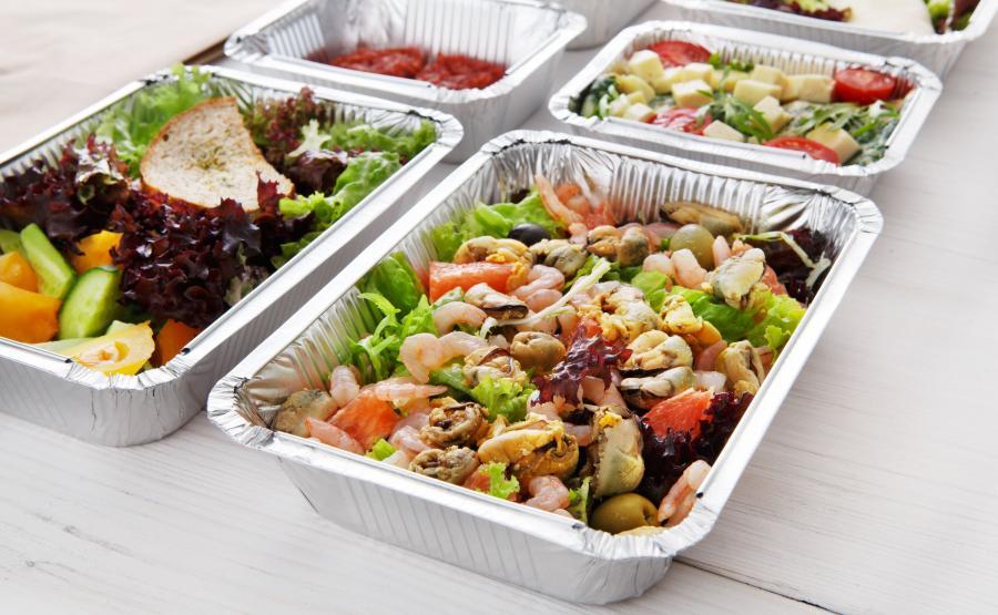 Posiłki z pudełkach