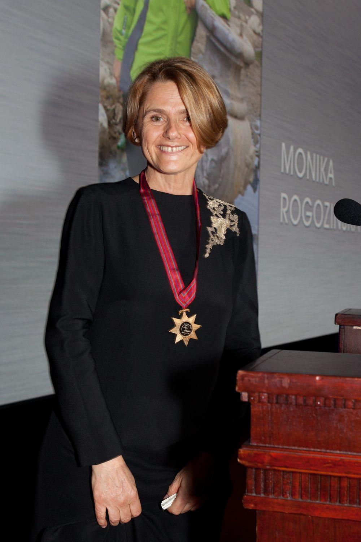 Monika Rogozińska w Waldorf Astoria 2013 r.