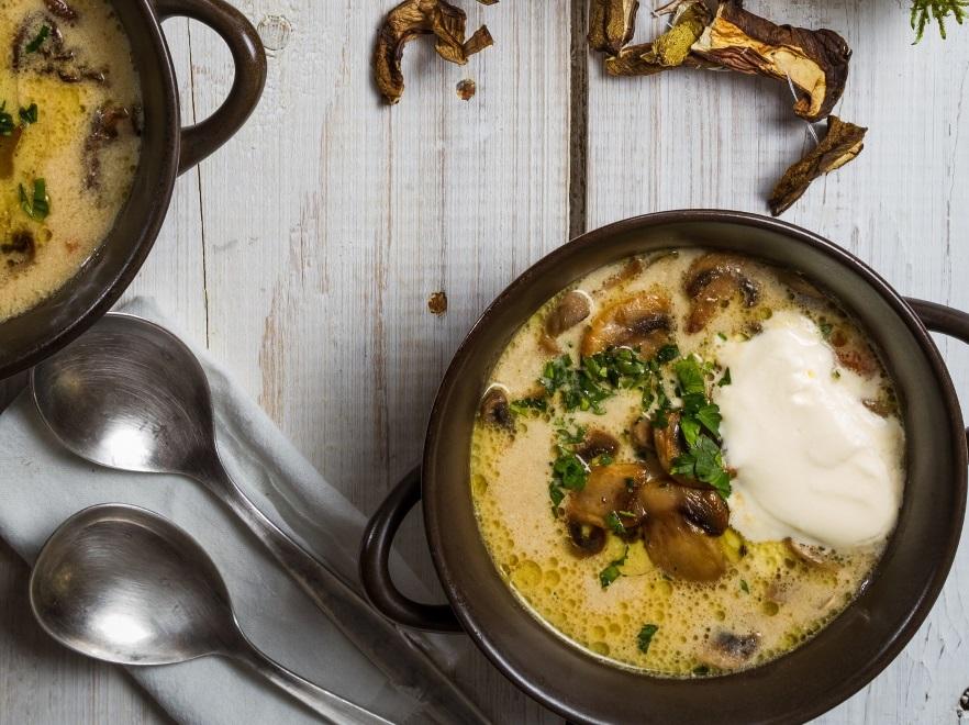 Przepis Na Zupę Grzybową Jesiennie Pyszna Kuchnia I