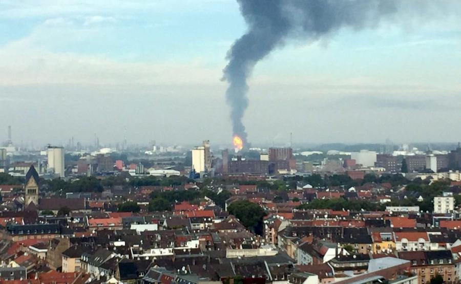 Eksplozja w Ludwigshafen