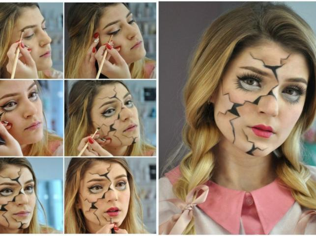 Makijaż Na Halloween 5 Strrrasznie Zmysłowych Propozycji Zdjęcie