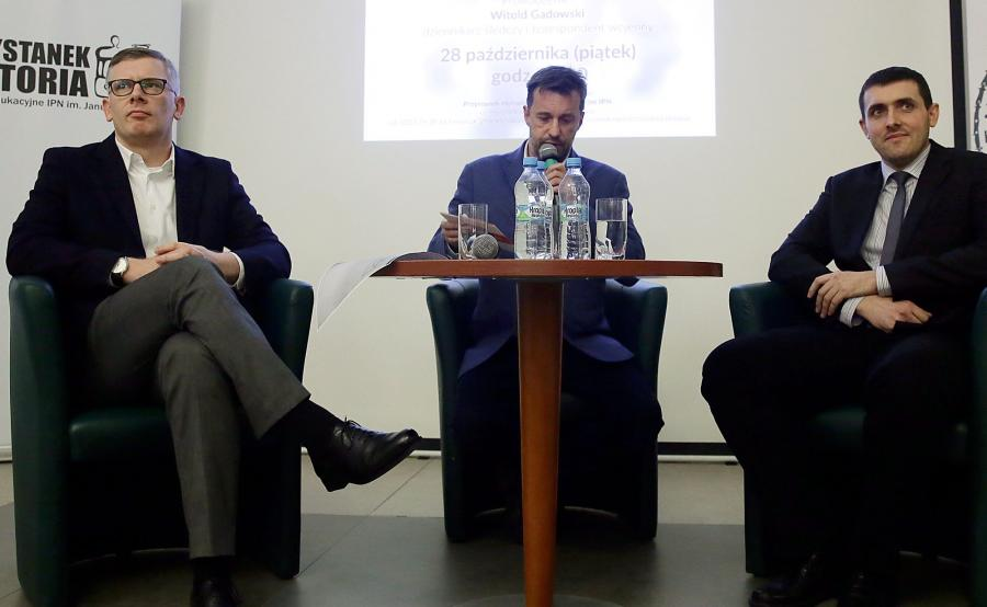 Dyskusja w IPN