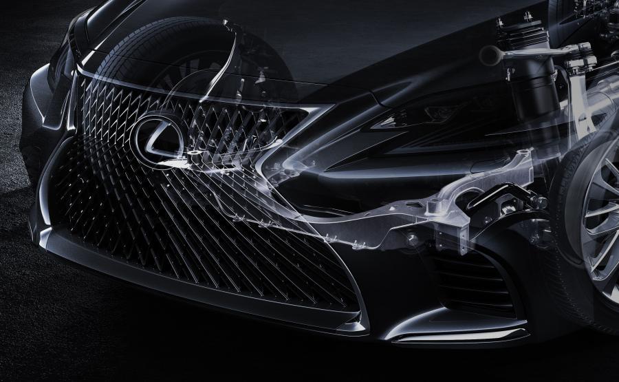 Lexus LS nowej generacji