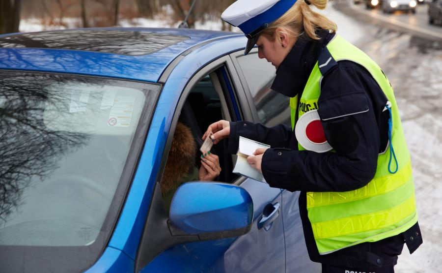 Policja zatrzymała 545 pijanych kierowców