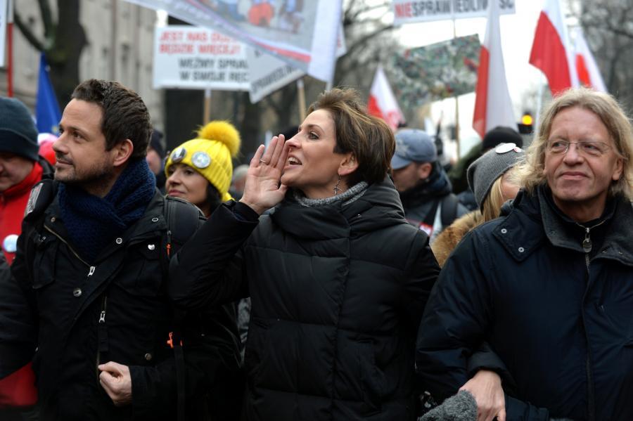 Joanna Mucha udzieliła na ten temat wywiadu wyborczej.pl