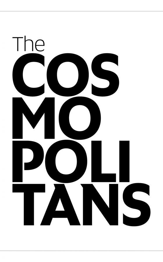 """okładka książki Marzeny Mróz-Bajon """"The Cosmopolitans"""""""
