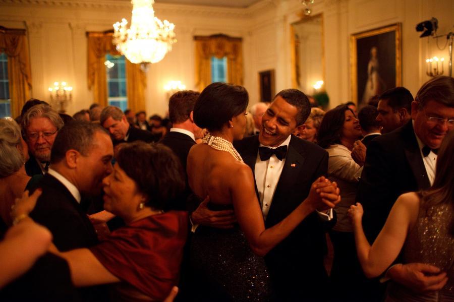 Barack Obama i Michelle Obama