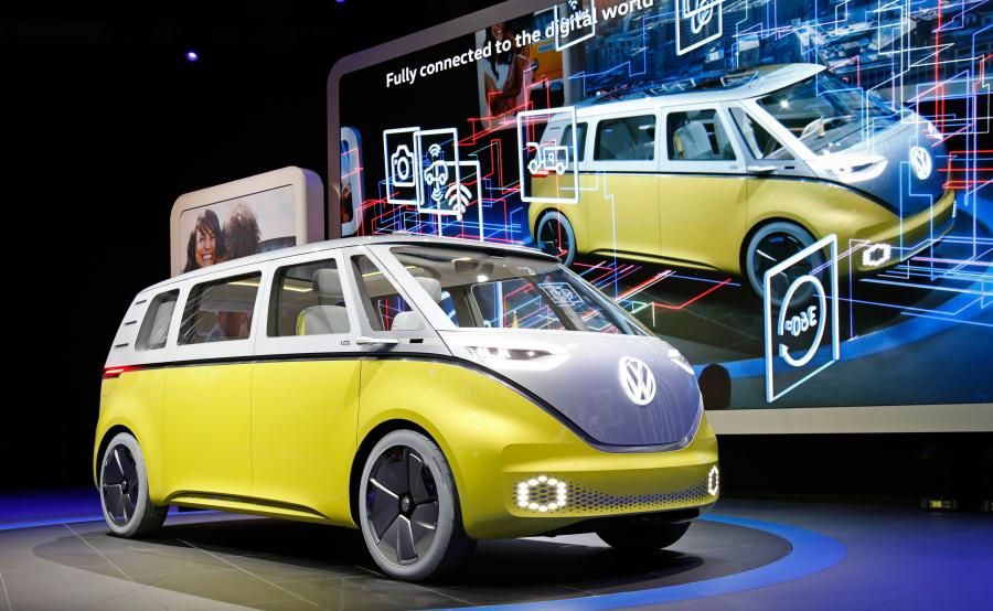 Volkswagen I.D. BUZZ - drugi model zasilany energią elektryczną