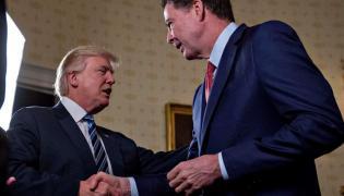 Donald Trump i James Comey
