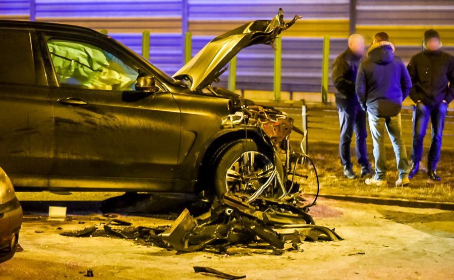 BMW X5, które ucierpało najbardziej