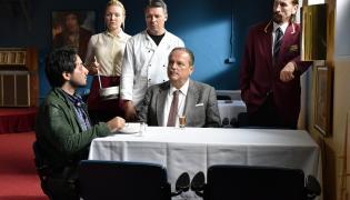 "Kadr z filmu ""The Other Side Of Hope"". Aki Kaurismäki pokże go na Berlinale 2017"