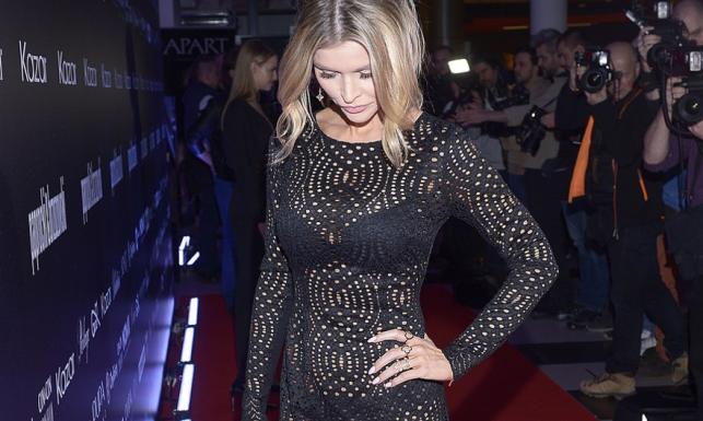 Fotografowie oszaleli! Joanna Krupa w sukience z gatunku \