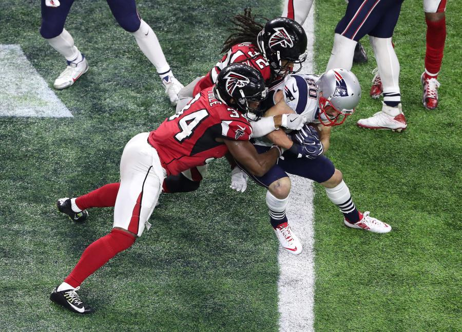 Patriots wygrali Super Bowl po pierwszej w historii dogrywce