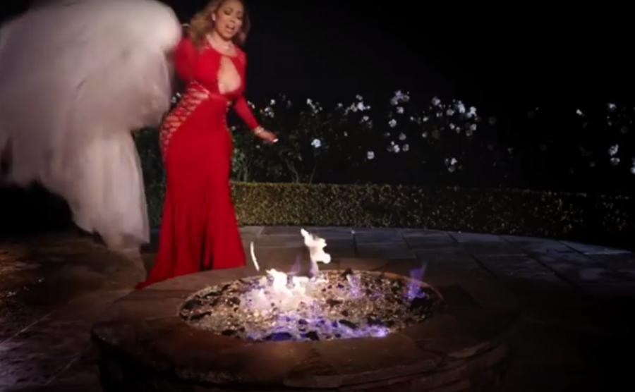 Mariah Carey pali suknię za ćwierć miliona dolarów