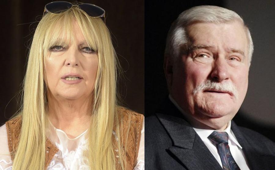 Maryla Rodowicz, Lech Wałęsa