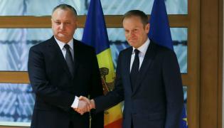 Igor Dodon i Donald Tusk
