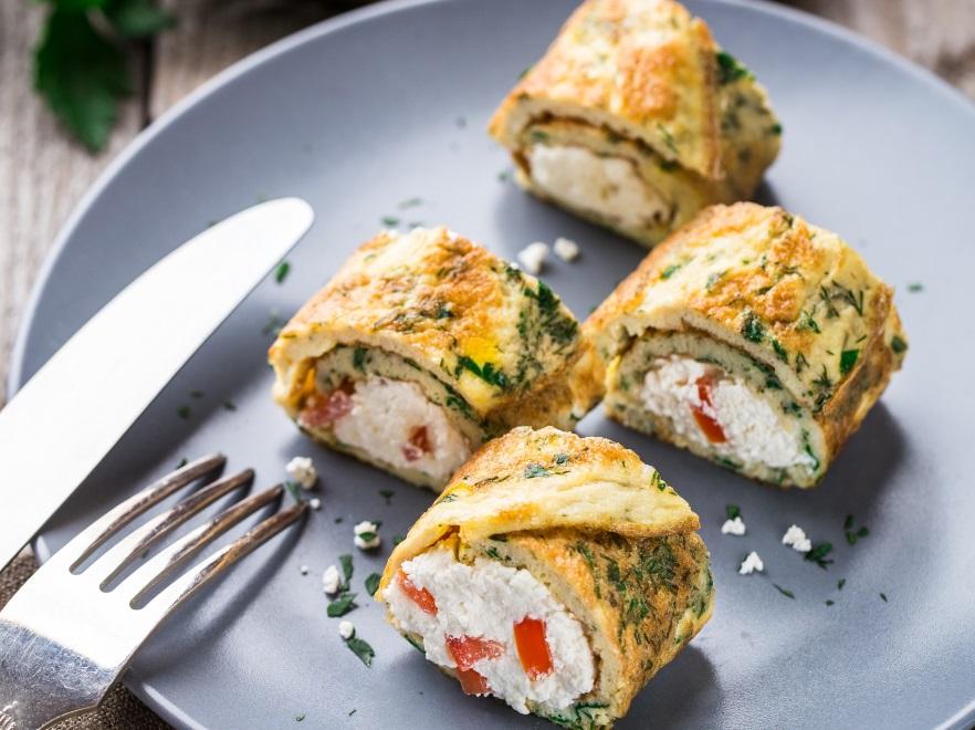 Przepis Na Zakręcony Omlet Z Twarożkiem I Zjesz śniadanie