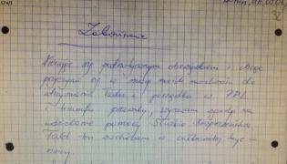 """Andrzej Przyłębski, TW """"Wolfgang"""". Zobowiązanie do współpracy z SB"""