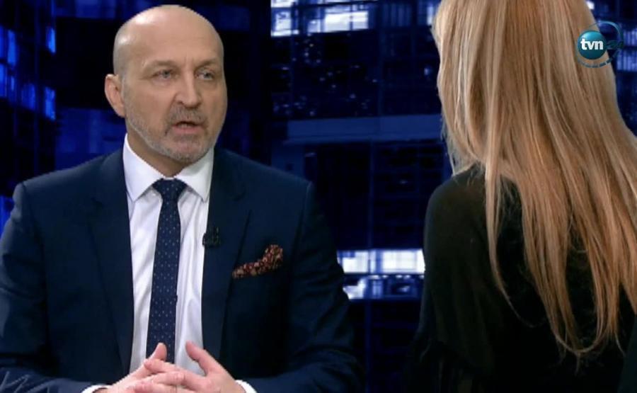 Kazimierz Marcinkiewicz w programie Moniki Olejnik